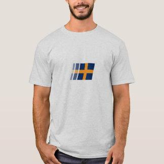 T-shirt Texte du drapeau w/custom d'EPL