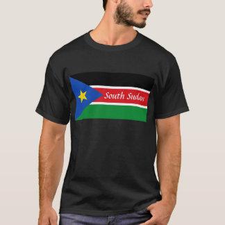 T-shirt texte du sud du Soudan