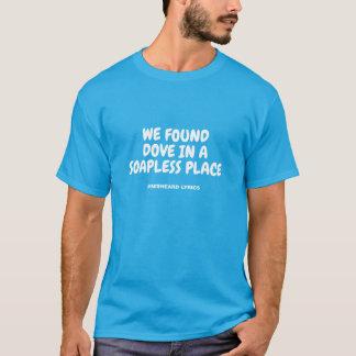 T-shirt Textes misheard typographiques drôles de chanson