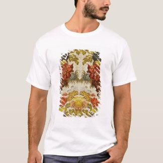 T-shirt Textile avec un motif floral de répétition
