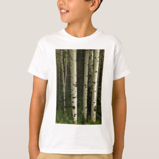 T-shirt Texture d'un portrait de forêt