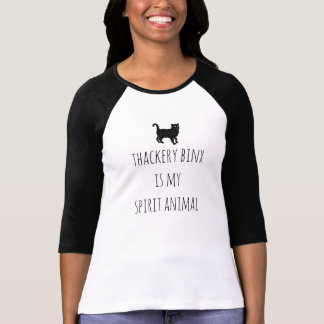 T-shirt Thackery Binx est la pièce en t de ma femme