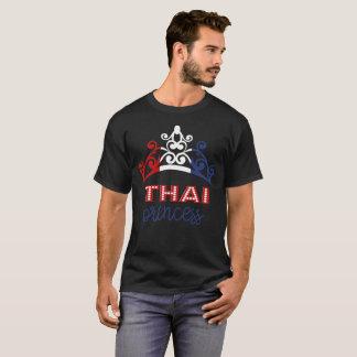 T-shirt thaïlandais de drapeau national de