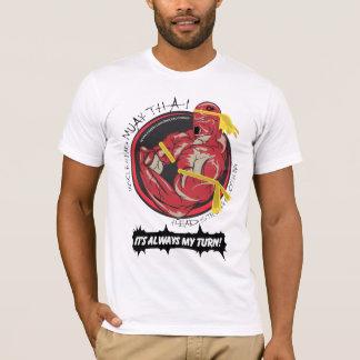 T-shirt Thaïlandais de MHC Muay -- Mon tour !