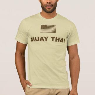 T-shirt thaïlandais de Muay Etats-Unis