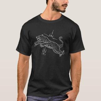 T-shirt thaïlandais d'incantation de style de