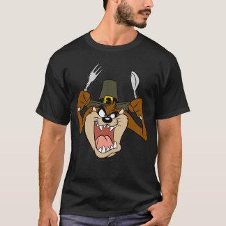 T-shirt Thanksgiving de pèlerin de TAZ™ en couleurs