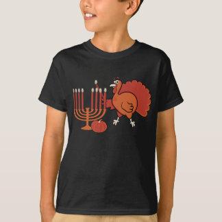 T-shirt 'Thanksgivukkah de fête