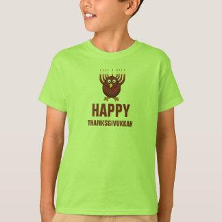 T-shirt Thanksgivukkah heureux 2013