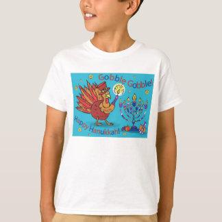 T-shirt Thanksgivukkah-T