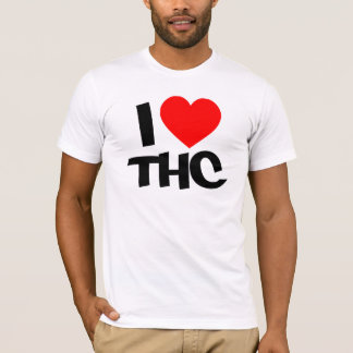 T-shirt thc du coeur i !