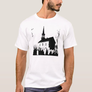 T-shirt The Church By The Cemetery