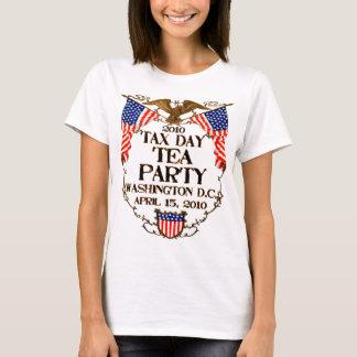 T-shirt Thé de jour de 2010 impôts
