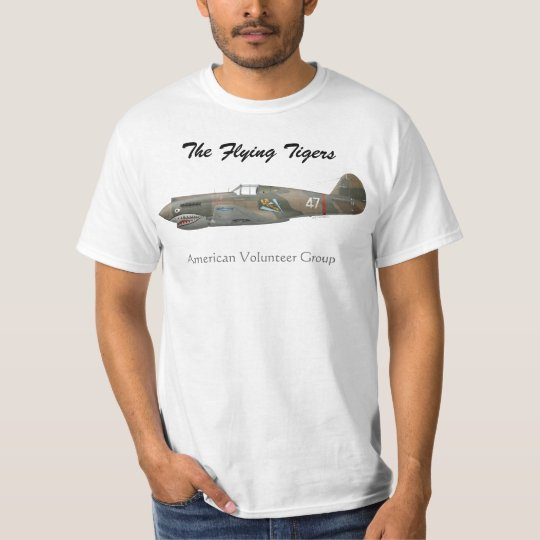 T-shirt The Flying Tigers P-40