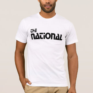 T-shirt  The National - Habillage promotionnel (1980)