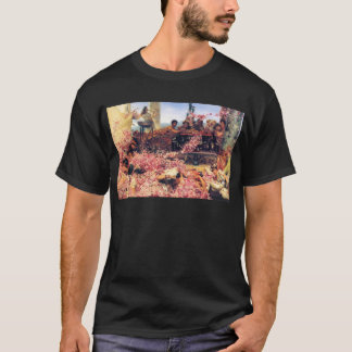 T-shirt The_Roses_of_Heliogabalus - Lawrence Alma-Tadema.j