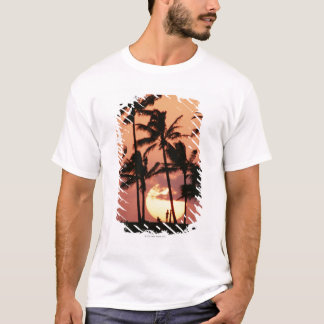 T-shirt The Sun et palmier