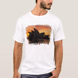 T-shirt Théatre de l'opéra de Sydney à l'aube, Sydney,