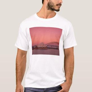 T-shirt Théatre de l'opéra de Sydney et port, nouveau sud