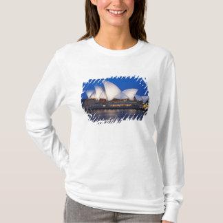 T-shirt Théatre de l'opéra de Sydney la nuit, Sydney,