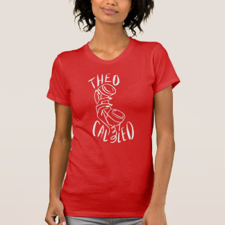 T-shirt Theo a appelé Tee (rouge/blanc)