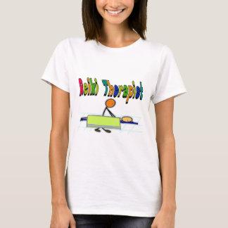T-shirt Thérapeute de Reiki--Personnages en allumettes de