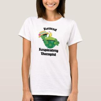 T-shirt Thérapeute respiratoire retraité (tortue)