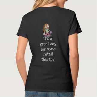 T-shirt Thérapie au détail --- L'amusement chronomètre le