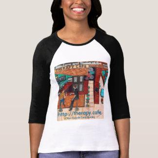 T-shirt Thérapie Café 3/4 douille Jersey