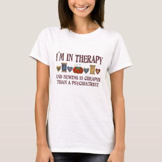 T-shirt Thérapie de couture