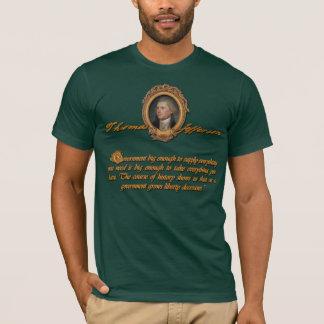T-shirt Thomas Jefferson : Grand gouvernement