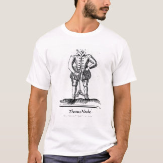 T-shirt Thomas Nashe, d'une brochure, pub. en 1597