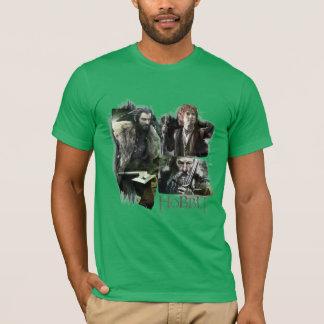 T-shirt THORIN OAKENSHIELD™, BAGGINS™, et logo de Gandalf
