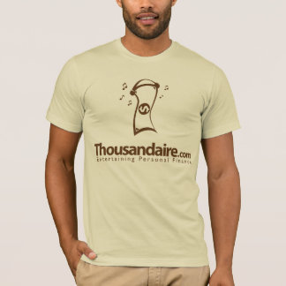 T-shirt Thousandaire billet d'un dollar - Brown