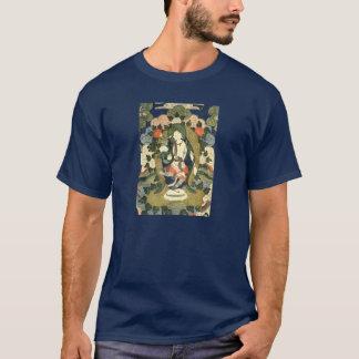 T-shirt tibétain de divinité de tissu de Philip