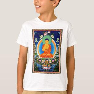 T-shirt Tibétain Thangka Prabhutaratna Bouddha