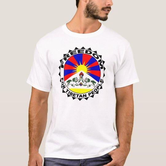 T-shirt tibetan people