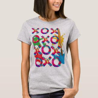 T-shirt Tic-TAC-Orteil - édition fraîche de peinture