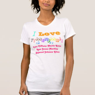 T-shirt Tiff d'amour, mais Caroline le mostestest
