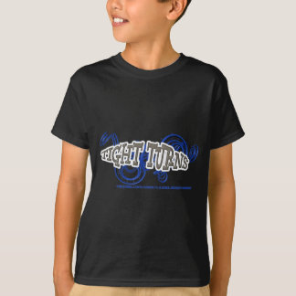 T-shirt Tight Turns Coasters Bleu RJC02WS.png