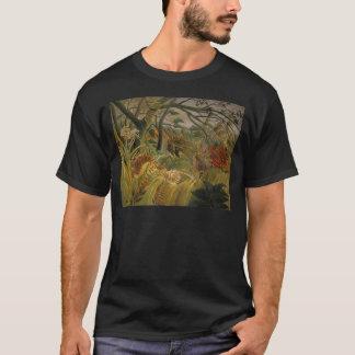 T-shirt Tigre dans une tempête tropicale