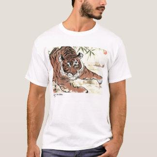 T-shirt Tigre de attente