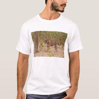 T-shirt Tigre de Bengale royal déplaçant autour le
