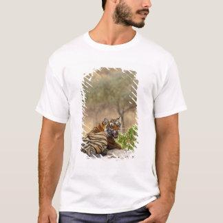 T-shirt Tigre de Bengale royal grondant, Ranthambhor