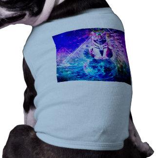 T-shirt Tigre de galaxie - tigre rose - 3d tigre - tigre