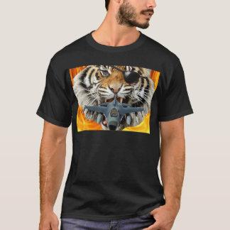 T-shirt Tigre fou