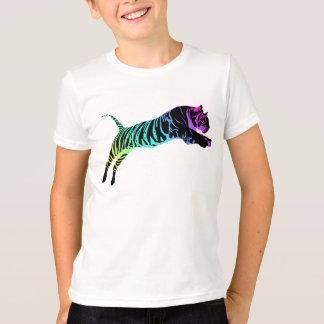 T-shirt Tigre multicolore