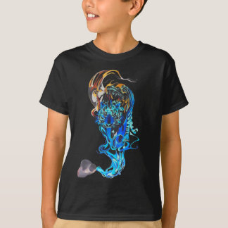 T-shirt tigre rêveur
