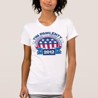 T-shirt Tim Pawlenty pour le président 2012