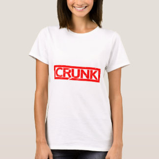 T-shirt Timbre de Crunk